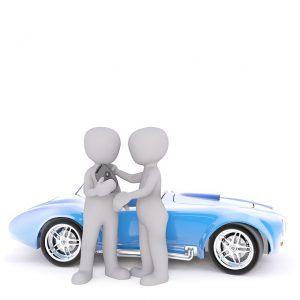 illustration deux personnage avec dune voiture
