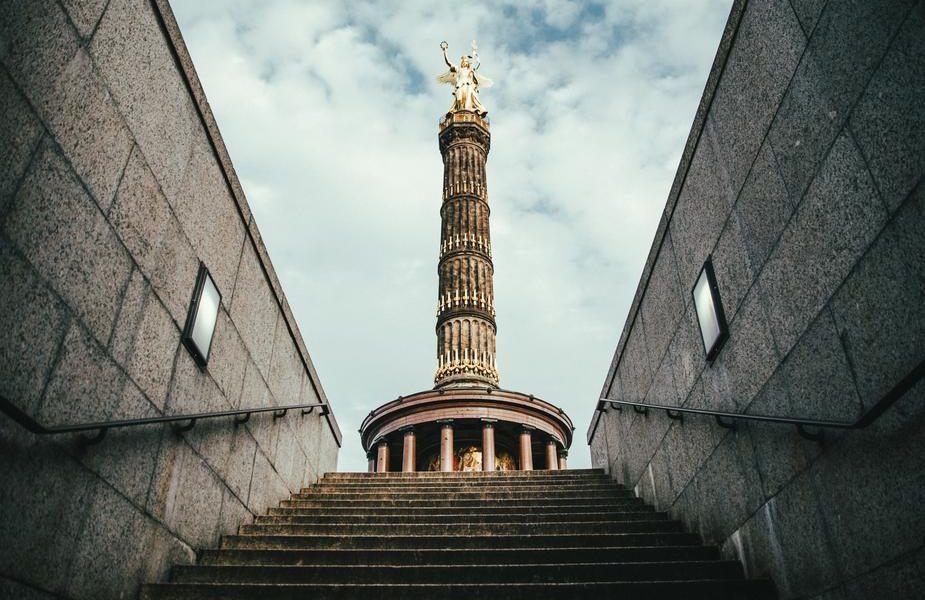 vue un monument de la ville de Berlin