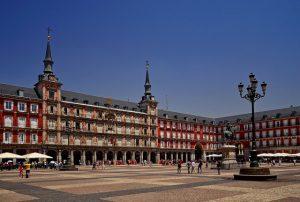 Photo de la place d'Espagne à Madrid