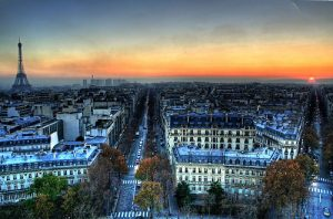 photo panoramique de la ville de Paris